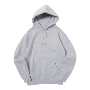 SAME COLOR BOX LOGO PULL PARKA (GREY) [TH-17AW-013]