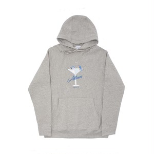 ALLTIMERS BIRDBATH PREMIUM HOODY HEATHER GREY L