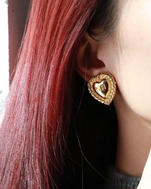 Sonia Rykiel  heart earrings