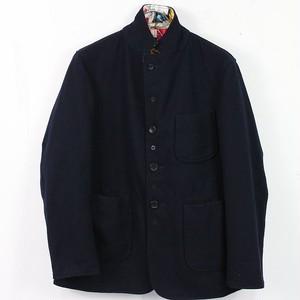 Engineered Garments / エンジニアドガーメンツ | フラワープリントリバーシブルジャケット | - | ネイビー | メンズ
