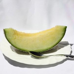 渥美半島産 野菜ソムリエ& 生産者厳選マスクメロン(青肉)(5玉)