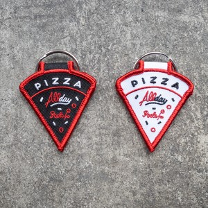 Peels NYC × ALLDAY PIZZA  Phone Number Key Chain