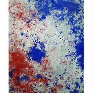 「無題」 キャンバスにアクリル * アート作品 絵画 抽象画 絵画 内野隆文 takafumiuchino