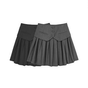 プリーツジャケットカラースカート 14900