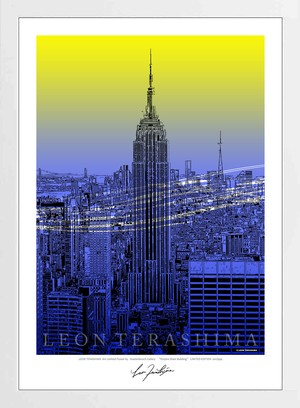 A2アートポスター Empire State Building