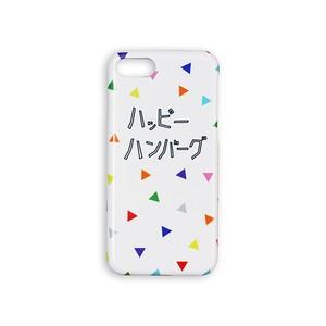 【セール価格】ハッピーハンバーグ iPhoneケース ホワイト