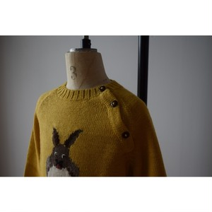 Oruro 715-0001-RA Kids Alpaca Animal Crew Rabbit