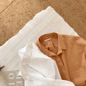 linen basic shirt