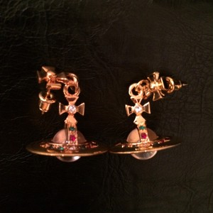 NOS 90's Vivienne Westwood Tiny Orb Earrings