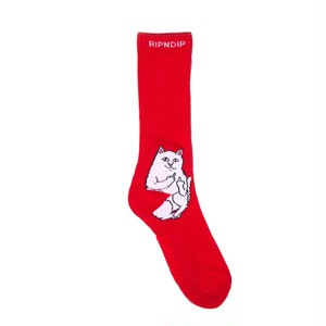 RIPNDIP - Lord Nermal Socks (Red)