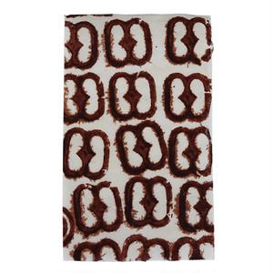 アシャンティ族のアディンクラの手漉き紙(芯付き) 3 / Asante Adinkra Handmade Paper with lining 3