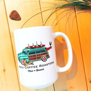 【MAUI COFFEE ROASTERS】CAR マグカップ