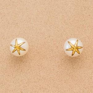 金の星11ミリピアス