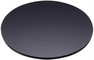 直径60mm板厚5mm 黒色 円形アクリル板 国産 丸板 アクリル加工OK  カット面磨き仕上げ及び糸面取り加工
