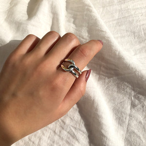 Silver925 tie ring 0114