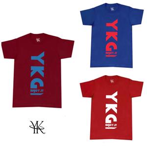 【YKG】ロゴTシャツ【全11色】【新作】イタリアンウェア【送料無料】《M&W》