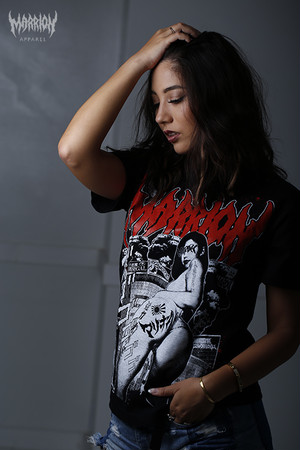Marrion×Hardcore Chocolate Tee (Logo Red,Blue,Black)