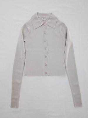 【Allege.】Standard Wool Rib Cardigan