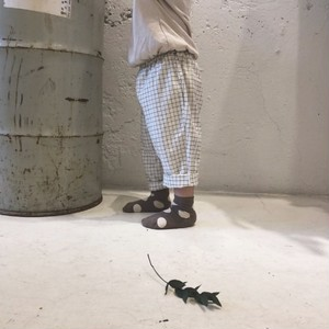 «即納»  grid summer pants