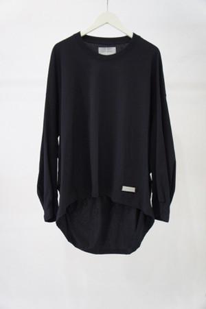 ポンチョ L/S Tシャツ -BLACK- / Licht Bestreben