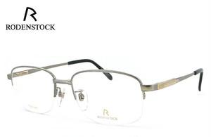 ローデンストック 眼鏡 メガネ 日本製 RODENSTOCK R0374 B 2サイズ チタン メンズ 男性用 眼鏡 Lサイズ バネ蝶番