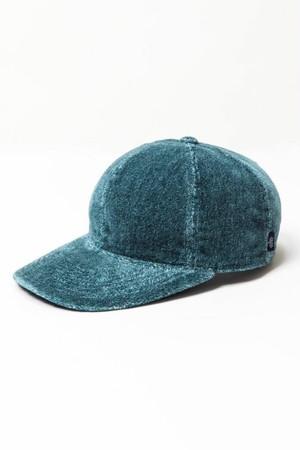 (THING FBRICS) 撚り杢片面シャーリングパイルCAP