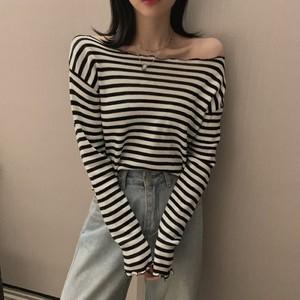 【トップス】セクシーかわいいシンプルおしゃれニットセーター