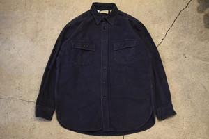 USED 80s L.L.Bean Chamois cloth shirt -15 1/2 0903