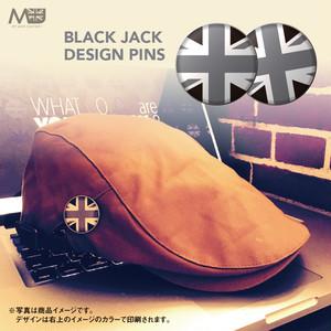 ブラックジャック【A】ピンズ【2個セット】