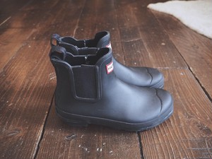 HUNTER Sidegore Chelsea boots US7