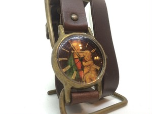 "Gothic Laboratory ""Maria"" Double Wristwatch"
