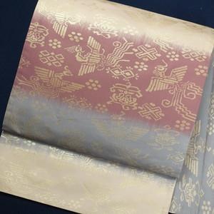 横段 正絹袋帯【0978】