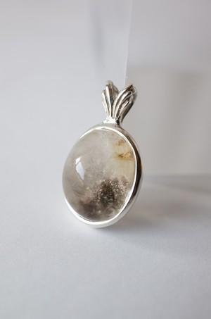 Garden Quartz Pendant  Silver925 - 029