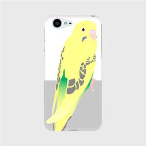 AQUOS PHONE ZETA(SH-04H) セキセイインコ 黄ハルクイン