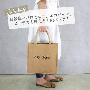 ロゴジュートバッグ(M)   /bag187a1