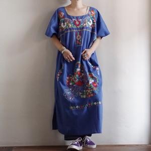 Mexican Dress / メキシカン 刺繍 ドレス