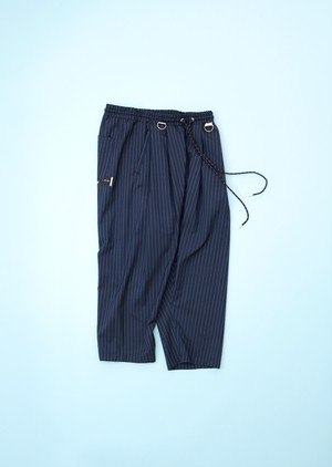 SARUEL CROPPED PT  [STRIPE]
