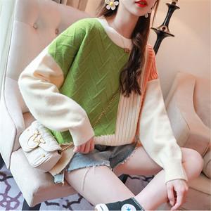 【トップス】シンプル配色合わせやすい多色選べ大人可愛いニットセーター24365073