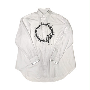 ILL IT - CIRCLE LOGO BIG SHIRT(WHITE) -