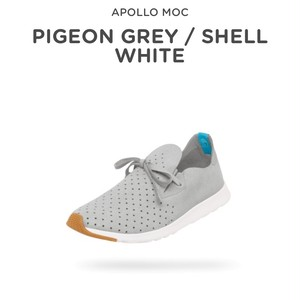 APOLLO MOC PIGEON GREY / SHELL WHITE US/9