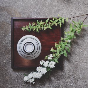 【レトロ飯茶碗】緑 茶 線 昭和レトロ デッドストック