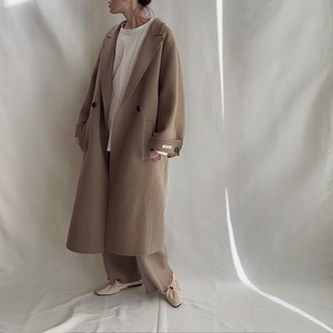 【即納】2size : Wool 100% Hand made Long Coat 148 送料無料