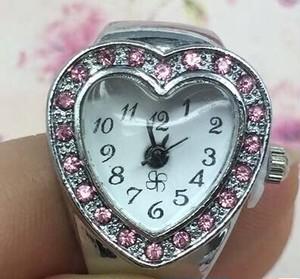 姫系雑貨 指輪時計 可愛いピンク色時計 通販商