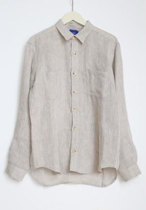 "A.Dupré ""mens long sleeve shirt""[natural]"