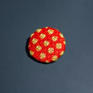 刺繍ブローチ|キランキラン