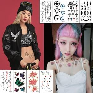 Tattooシール タトゥーシール タトゥシール ハーフサイズ やみかわいい ゆめかわいい ネオギャル フェス イベント 860418