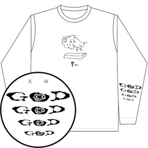[L/S T-shirts]GOD『Sheep T/S Tee』