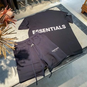 ESSENTIALS【エッセンシャルズ】Boxy T-shirt (BLACK).