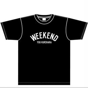 WEEKENDTシャツ(ブラック)
