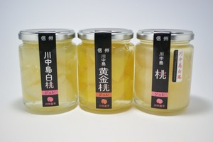 数量限定 長野県産桃の味比べセット